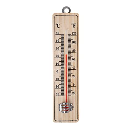 Garden Thermometer Greenhouse Outdo Indoor Hang Temperature Celsius Fahrenheit