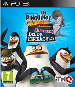 Los Pingüinos de Madagascar: El Regreso del Dr. Espiráculo