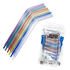 1000 Assorted Rainbow Dental Air Water S...