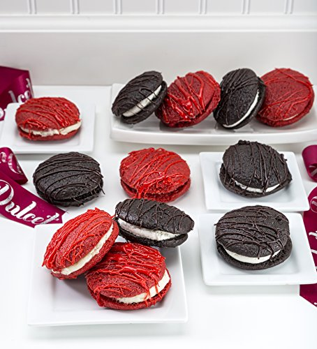 Dulcet's Assorted Chocolate and Red Velvet Whoopee Pie Gift Basket Gourmet