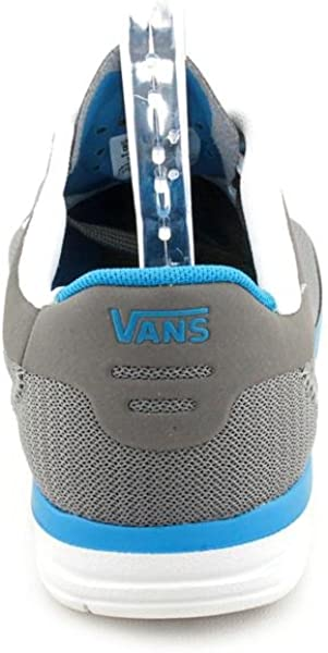 da107e63cd36 Vans LXVI Graph Grey Light Blue Mens Skate Shoes