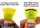 Stress Relief Sensory Fidget Toys For Adults & Kids - Squishy Stress Grip Balls & Marble Mesh Fidgets With Free Carrying Bag - Non-toxic,BPA/Phthalate/Latex-Free #1 Therapist Recommended!