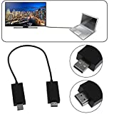 Simply Silver - HDMI Display Adapter - Wireless Display Adapter V2 Receiver HDMI Useful +USB Port For Microsoft US Fast