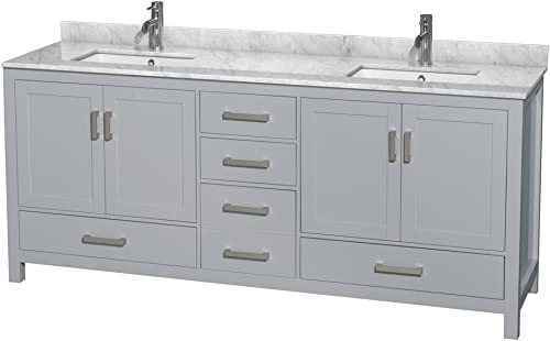 International Concepts Shaker Styled Bench, Washed Gray Taupe