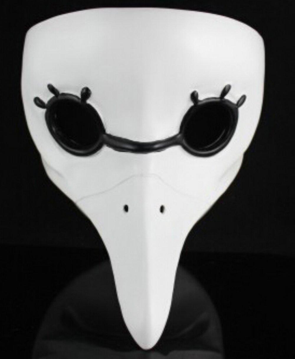 Helen Ou@horrible Beak Doctor Mask Assassins Brotherhood Plague Crow
