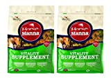 Manna Pro Vitality Equine Supplement for Horses, 11.25-Pounds (Pack of 2)