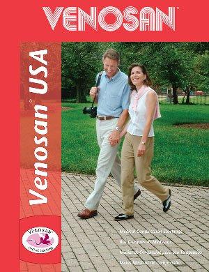 edd4809fc34 Venosan 3040123 USA 30-40mmHg Knee High Support Stockings - Size- Medium   Amazon.co.uk  Health   Personal Care