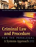 img - for Criminal Law and Procedure for the Paralegal book / textbook / text book