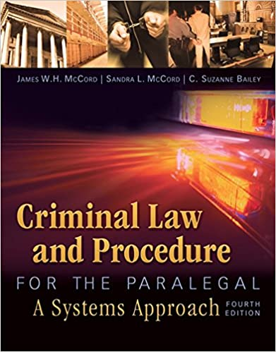 Criminal Law+Procedure For Paralegal