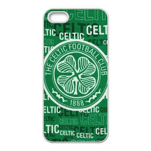 Celtic Football Club A5G30K3LE coque iPhone 4 4s case coque cover white GGB18L