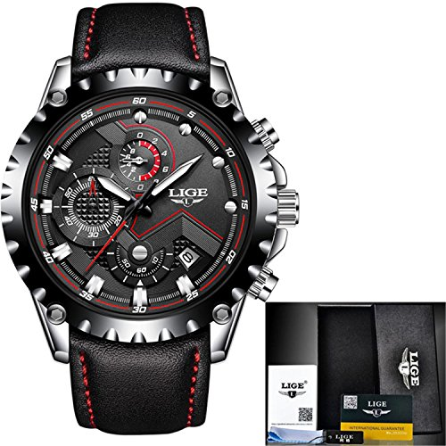 Meetloveyou Sport Men Watch Men Quartz Wristwatch Waterproof, used for sale  Delivered anywhere in USA