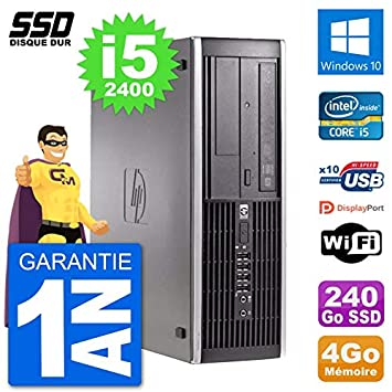HP PC Compaq 6200 Pro SFF Intel i5-2400 RAM 4 GB SSD 240 GB ...