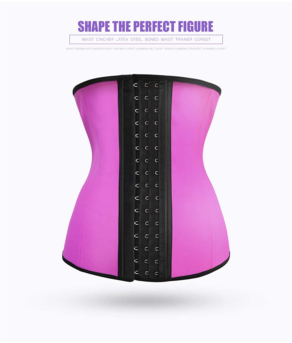 Latex Waist Trainer Slimming Latex Belt Cincher Corset Modeling Strap hot Shapers Body Shaper Slimming Latex Corset