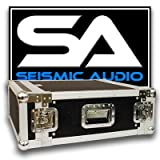 Seismic Audio - 4 SPACE RACK CASE for Amp Effect Mixer PA/DJ PRO Audio