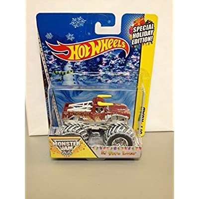 Monster Jam Special Holiday Edition EL Toro Loco Hot wheels off-road 2014: Toys & Games