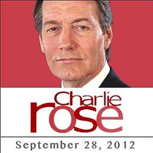 Charlie Rose: Bill Clinton, Tony Blair, and Mahmoud Ahmadinejad, September 28, 2012 Radio/TV Program