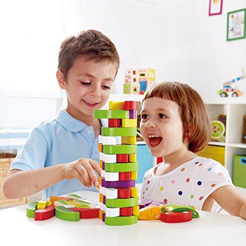 Award Winning Hape Stacking Veggies Kid's Wooden Skill Learning Game by Hape (Image #2)