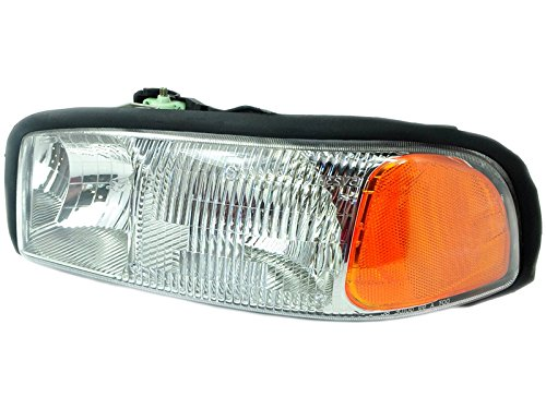 2003 Headlight Lh Driver - Depo 332-1181L-AS GMC Sierra/Yukon Driver Side Replacement Headlight Assembly
