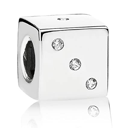 b9706af6d Pandora Lucky Dice Sterling Silver Charm No. 791269cz: Amazon.ca: Home &  Kitchen