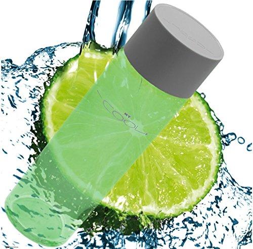 my-cool-ergonomic-glass-water-bottle-environmentally-friendly-fitness-hydration-mycool-lime-green