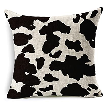 Almohadón leopardo Zebra tiger giraffe animal ropa de textura Decoración Fundas De Cojines Algodón de Lino