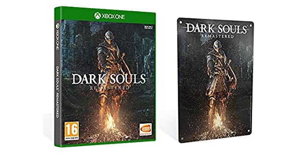 Dark Souls Remastered + Metal Plate - Limited - Xbox One ...