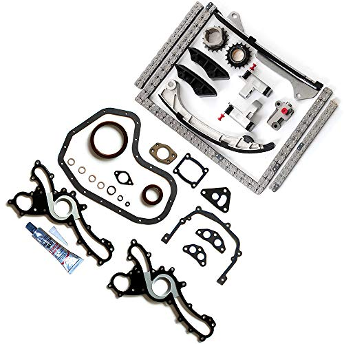 AUTOMUTO Timing Part Timing Chain kit Head Gasket Set fits for 2007 2008 2009 2010 2011 Lexus ES350 3.5L 3456CC V6 Gas DOHC Naturally Aspirated
