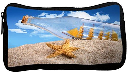 Rikki Knight Ship in Bottle on Sand Design Neoprene Penci...