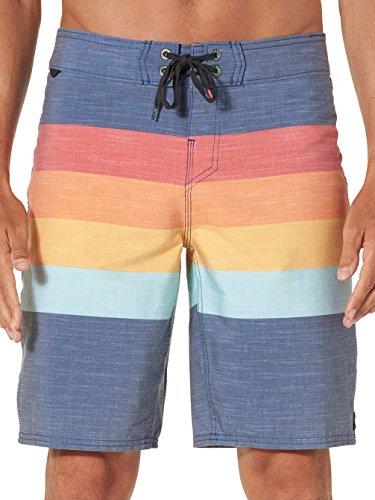 New Reef Men's Simple Boardshort Polyester Elastane Blue