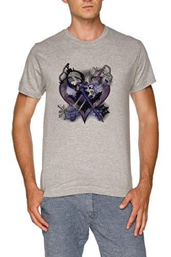 Men's Grey amp; Regno Jergley Maglietta Oblio Grigio Cuori shirt Uomo T Oathkeepeer 4vg4Px
