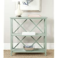 Safavieh American Homes Collection Liam Dusty Green  2-Tier Open Bookcase