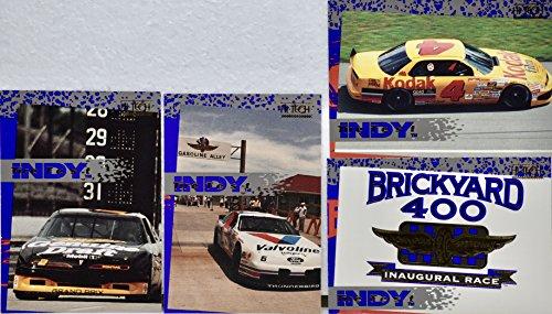 1993 - Hi-Tech Cards Inc - Brickyard 400 Inaugural Race - Tire Test 10 Card Set (Inaugural Race)