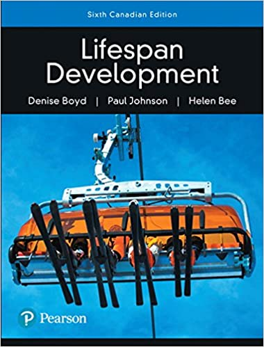 Lifespan Development, Canadian Edition