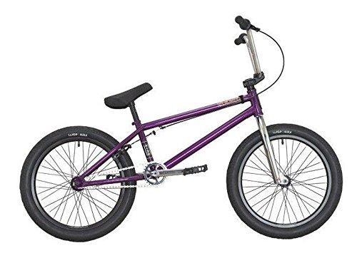 "DK Bikes DK Helio 20"" Complete BMX Bike Purple"