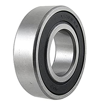 uxcell 6205rs deep groove double rubber sealed motor bearing 25mm x rh amazon com Double Row Ball Bearing Radial Bearing Sizes