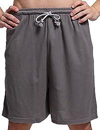 Godsen Men's Cotton Shorts Lounge Sleep Shorts Boardshort