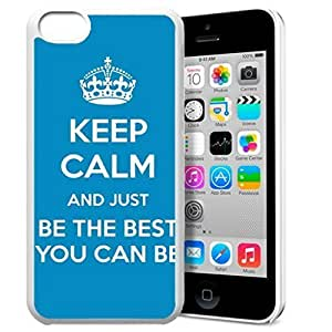 diy phone caseKeep Calm and Just Be The Best You Can Be Pattern HD Durable Hard Plastic Case Cover for iphone 6 plus 5.5 inch Design By GXFC Casediy phone case