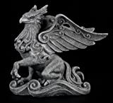 8 Inch Mystical Griffin Horse Creature in Waves Statue Figurine
