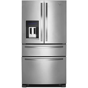 refrigerator amazon. ft. stainless steel french door refrigerator - energy star amazon e