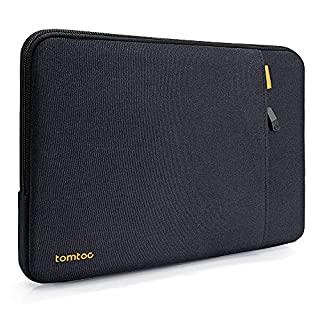 tomtoc 360° Protective Laptop Sleeve Bag for 12-inch MacBook Retina Display A1534, 10.9-inch iPad Air 4 | 11-inch iPad Pro with Magic/ Smart Keyboard Folio or Logitech Slim Folio Pro Case, Shockproof