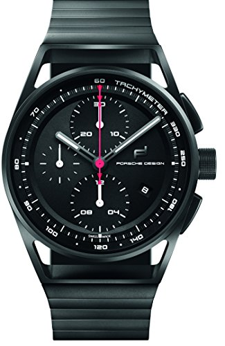 Porsche Design 1919 Chronotimer Automatic Watch, Titanium, Black