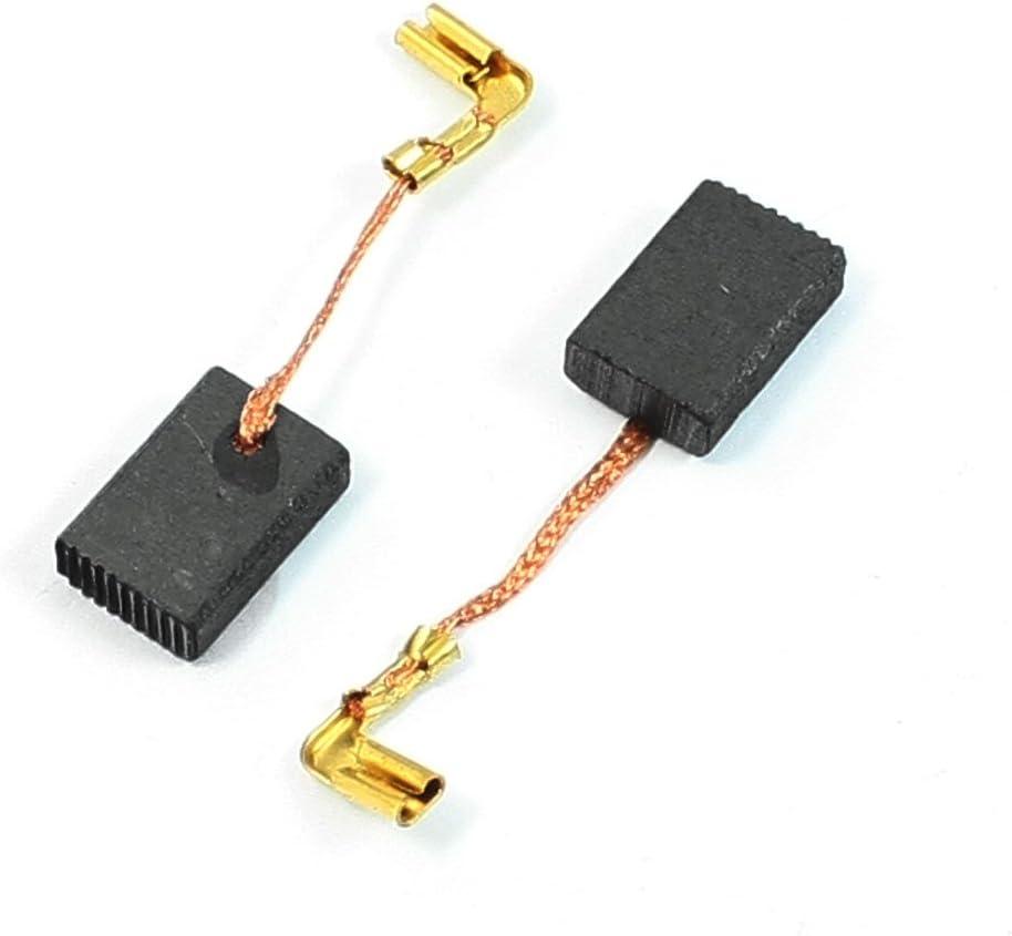 uxcell 20 Pcs 6mm x 10mm x 16mm Carbon Brush for Makita CB-103