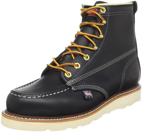 Thorogood American Heritage Boot, Black, 8 D US by Thorogood