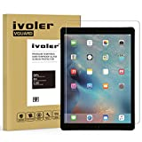 iVoler Apple iPad Pro 12.9'' inch Screen Protector with Ultra Clear 9H Hardness Tempered Glass for Apple iPad Pro 12.9'' - Lifetime Replacement Warranty