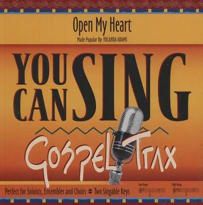 Open My Heart as performed by Yolanda Adams Accompaniment Track by You Can Sing Gospel Trax