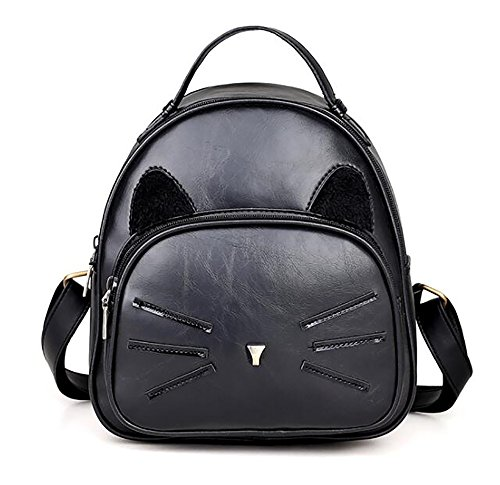 Leather pu 22 Handbag Women's 25cm Bag Casual 10 Soft function Backpack Multi Fashion 6ZTYgqnwY