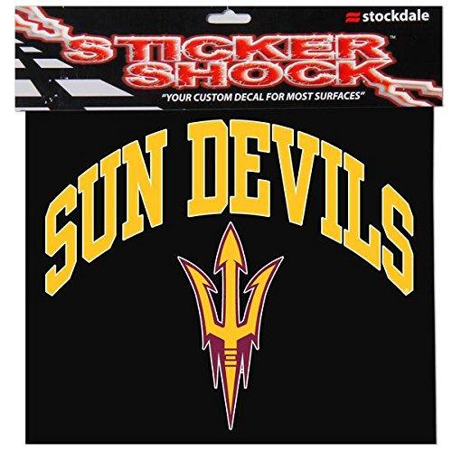 Image of Arizona State University S93876 Window Decals Décor