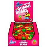 ALLAN Jumbo Gummy Bears Gummy Halloween Candy, 1250 Gram