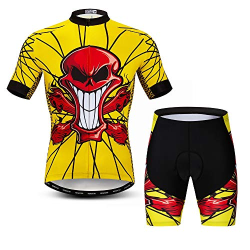 Cycling Jersey Shorts Set Pro Team Bicycle Clothing MTB Jerseys for Men