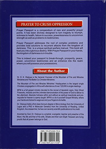 Prayer PassportHardcover